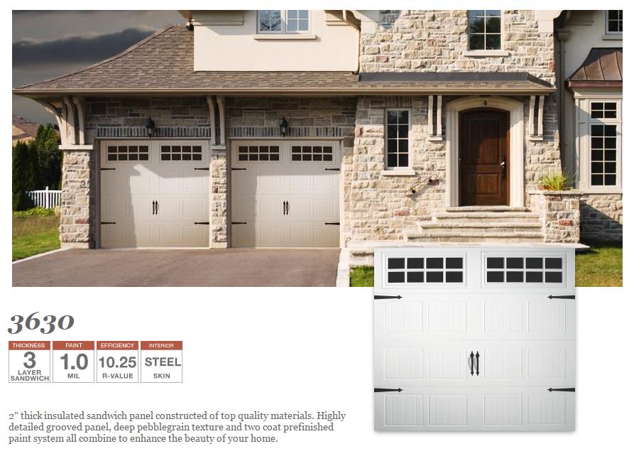 Grooved Panel Residential Doorlink Garage Door