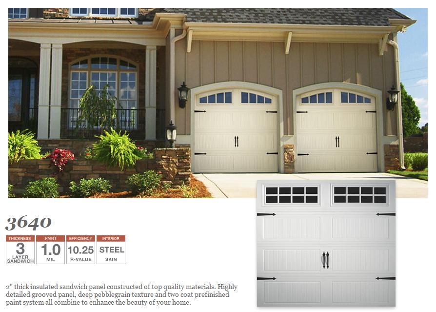 Model 3640 Garage Door