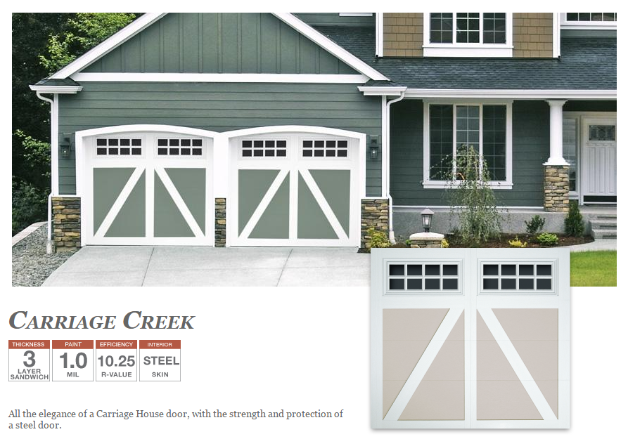 Carriage House Doors by Doorlink
